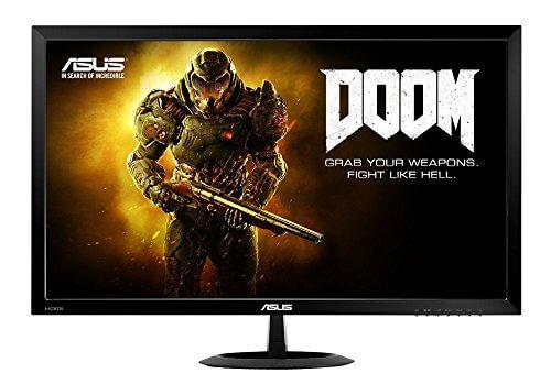 Asus VX278H 68,6 cm (27 Zoll) Monitor (VGA, HDMI, 1ms Reaktionszeit, 1.920 x 1.080 Pixel) schwarz