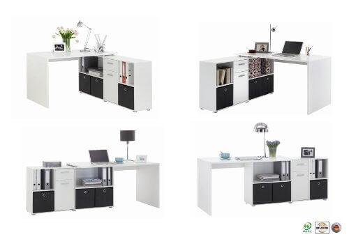 FMD Möbel 353-001 Winkelkombination LEX Tisch Kaufratgeber