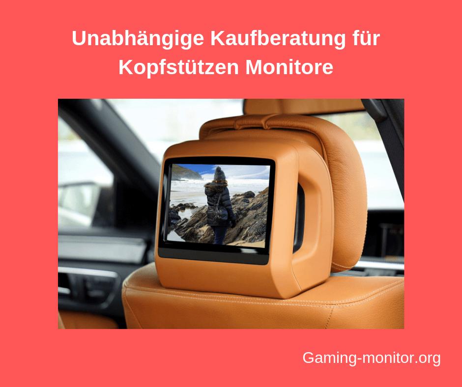 kopfstuetzen monitor test bild