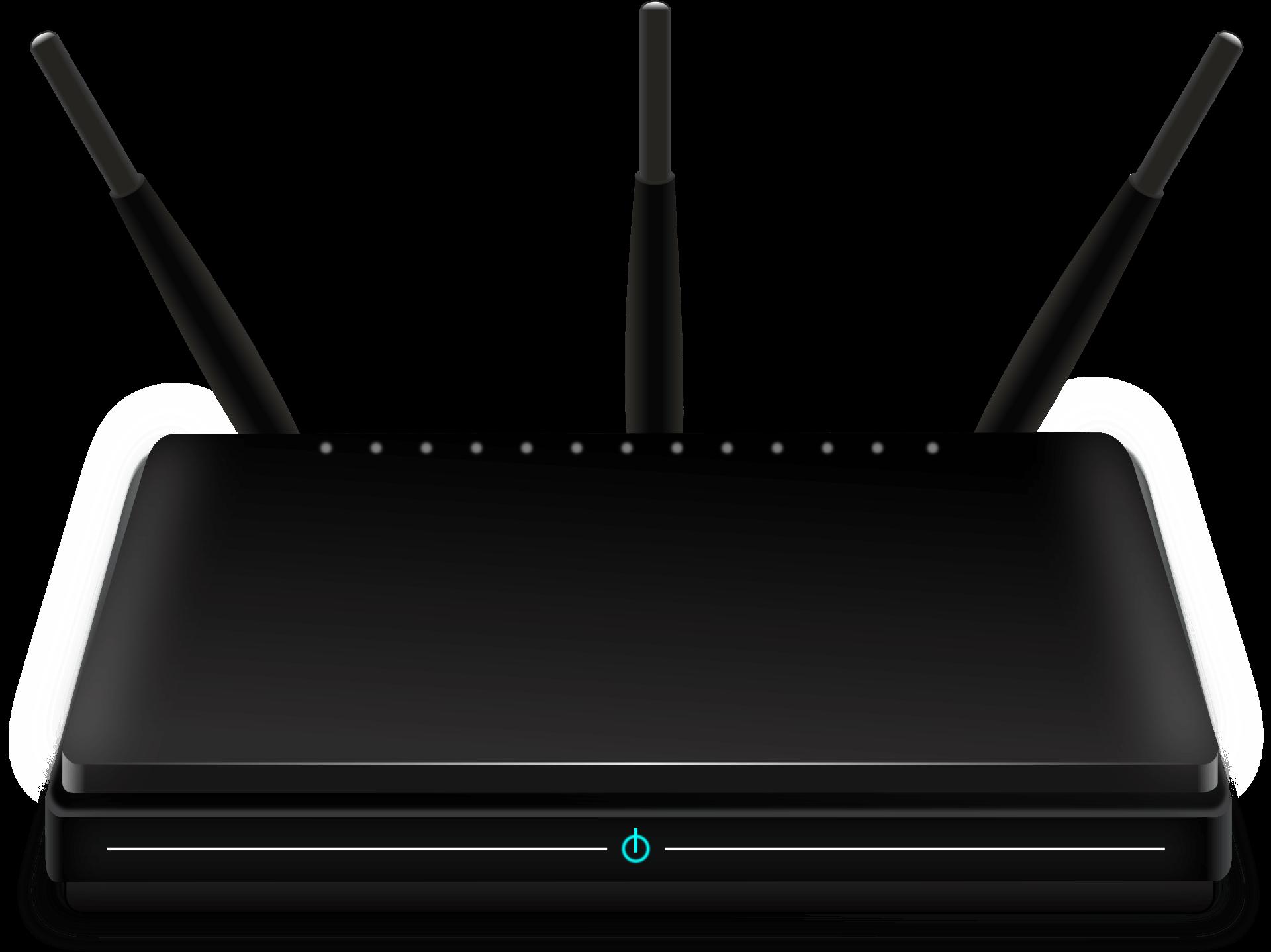 gaming router test bild