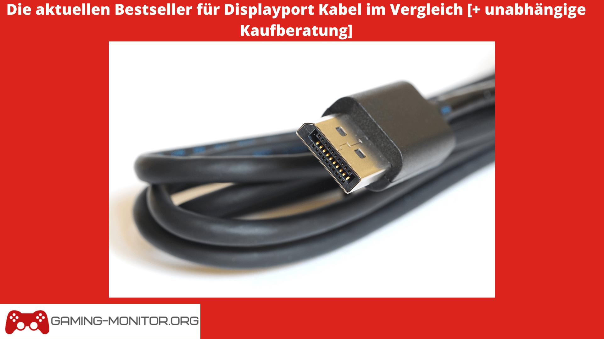 displayport kabel test bild